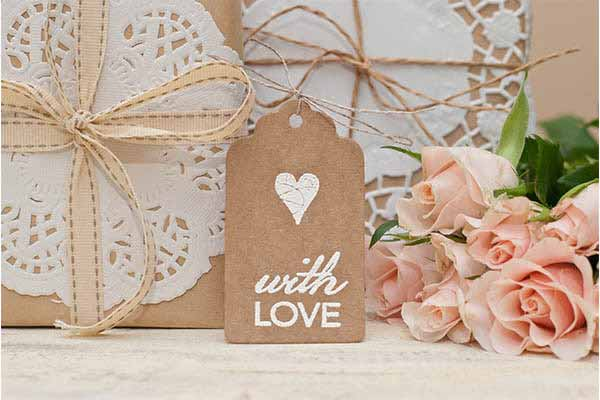 with love wedding gift