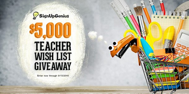 giveaway contest win back-to-school prize teacher give away