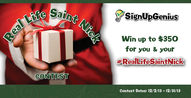 Real Life Saint Nick Contest