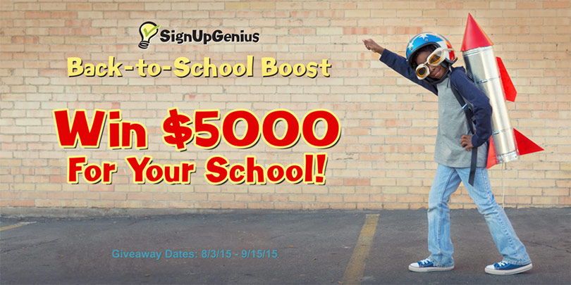 Back to School Giveaway. Win $5000!