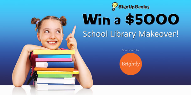 read across america school library makeover signupgenius giveaway
