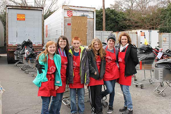 Salvation Army Organizes Volunteers with SignUpGenius