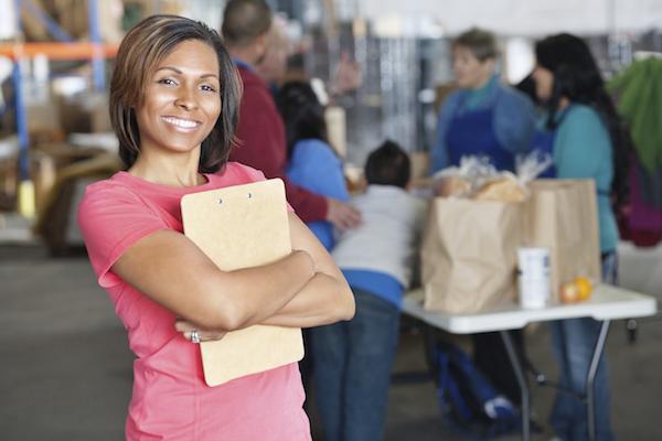 volunteer coordinator check in