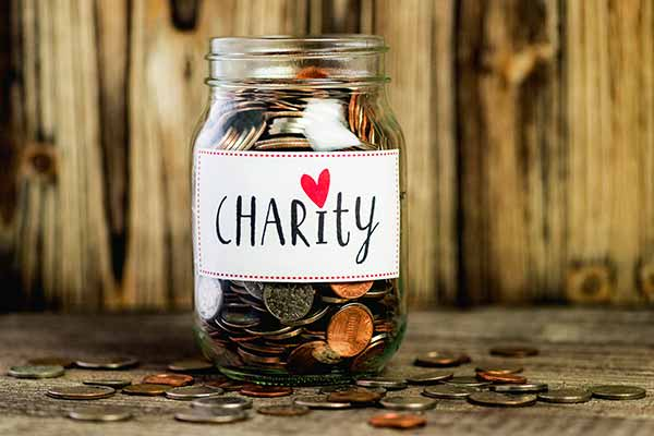 how to get money for charity