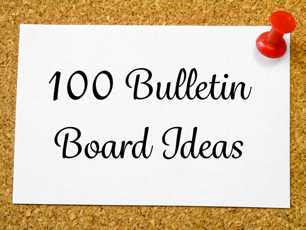 100 Bulletin Board Ideas, Page 2