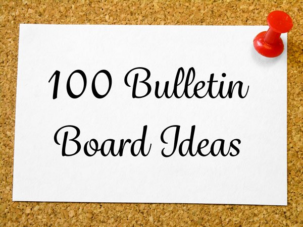 bulletin board ideas school