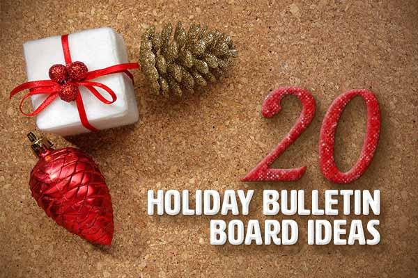 holiday bulletin board ideas
