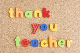 teacher appreciation ideas, thank you teacher letters