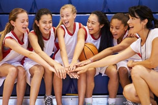 basketball team, team building activities for teens