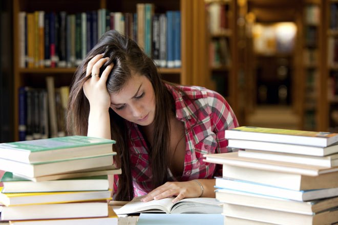 college stress, relief, study tips