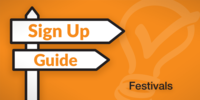 Sign Up Guide: Festivals