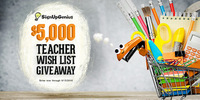 $5,000 Teacher Wish List Giveaway
