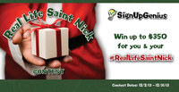 SignUpGenius Real Life Saint Nick Contest