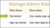 Assign Admins