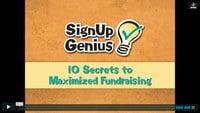10 Secrets to Maximized Fundraising: Webinar