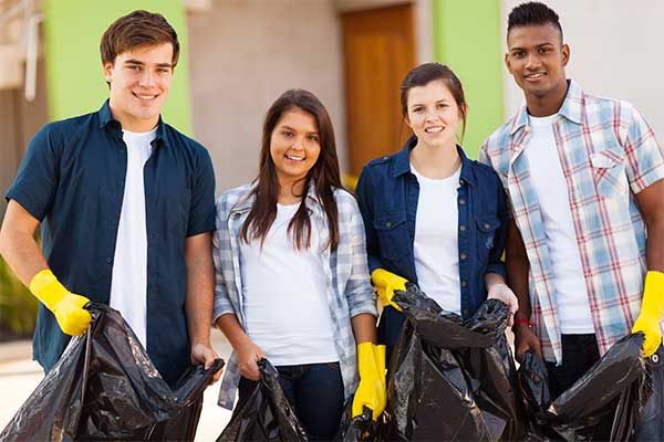 youth group service projects