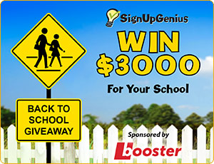 Win $3000 for your school!