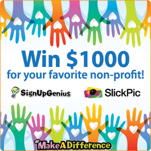 Win $1000 for your favorite nonprofit!