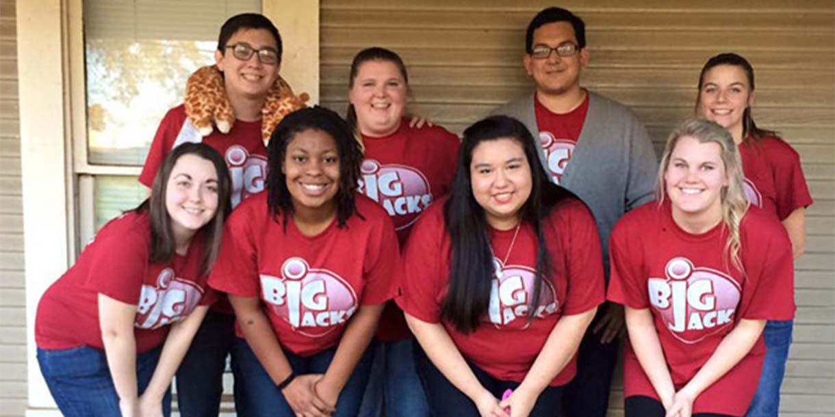 Stephen F. Austin State University Students Organize Mentoring for Next Generation