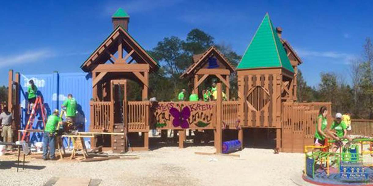 Persistence and Planning Pay off for Inclusive Wisconsin Playground