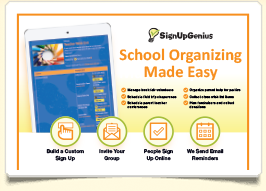 introduce signupgenius to your school