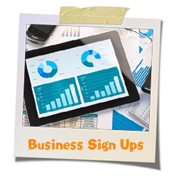 business sign ups