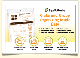 introduce signupgenius to your group