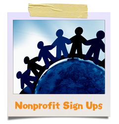 nonprofit sign ups