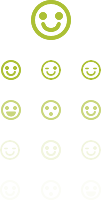 smile green icons