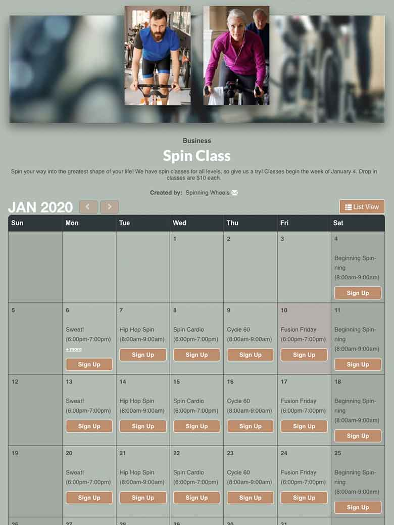 Plan Spin and Cycle Classes