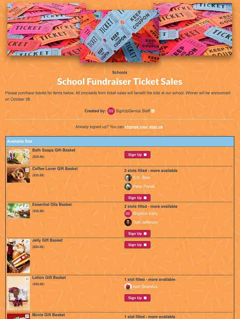 Plan a Fundraising Auction