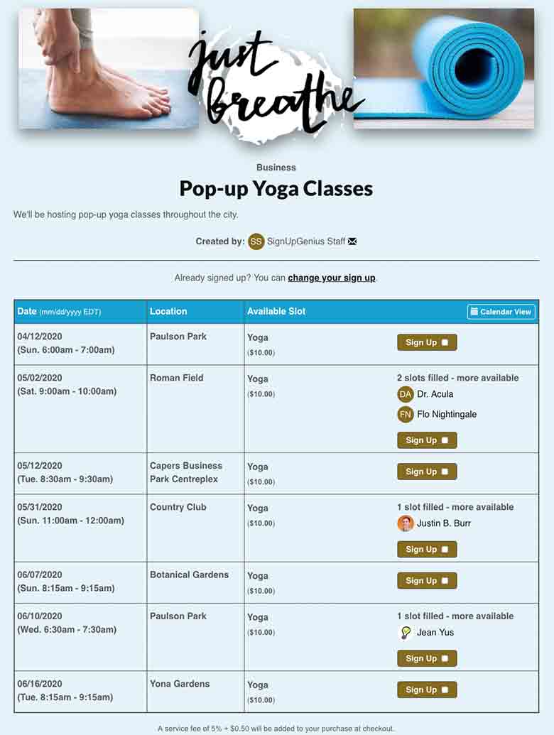 Organize and Teach Yoga Classes