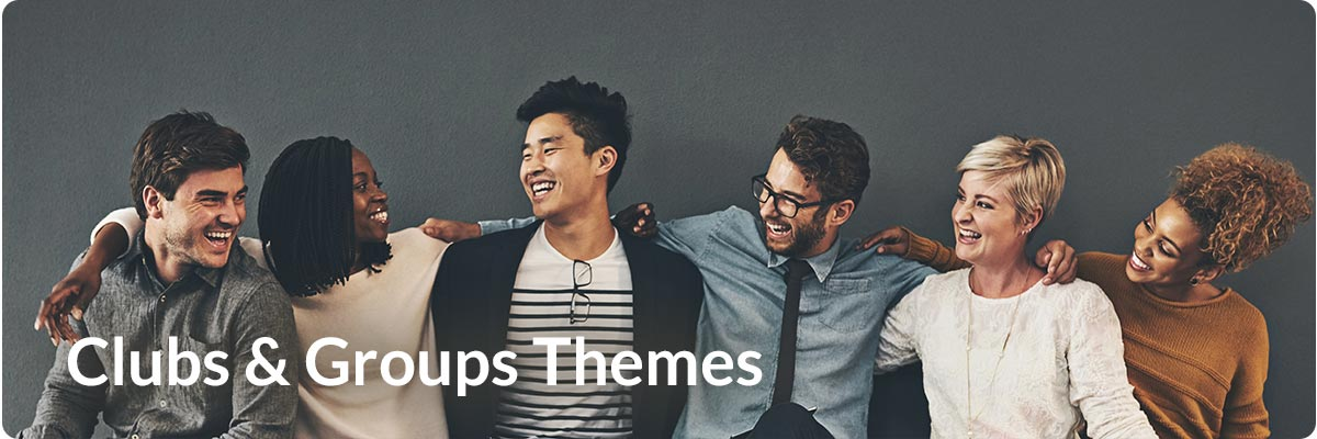 Clubs and Groups Themes