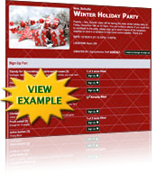 Classroom Holiday Party Template