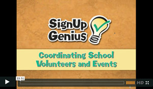 Coordinating School Volunteers & Events: Webinar