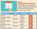 Calendar 3 sign up sheet