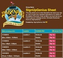 Scholastic Bookaneer sign up sheet