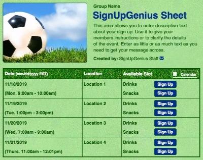 Soccer balls sports futbol teams green  sign up form