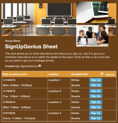 training classes media library technology computer programming code coding lab STEM STEAM sign up form