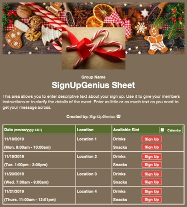 christmas candy canes cookies decorations decorating baking gingerbread holidays sign up form