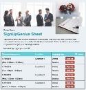 Business Schedule sign up sheet