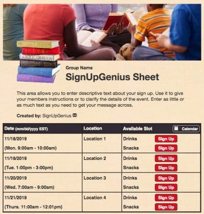 reading books library reader literature studying learning beige sign up form