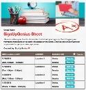 Teacher Desk sign up sheet