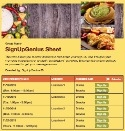 Mexican Potluck sign up sheet