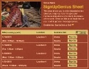 BBQ Ribs sign up sheet