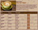 Coffee sign up sheet