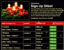 Advent Wreath sign up sheet