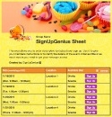Halloween Candy sign up sheet