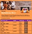 Halloween Party Time sign up sheet