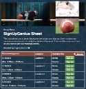 Football Coach sign up sheet